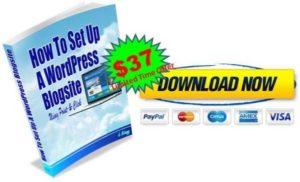 Setup WPblogsite eBook offer